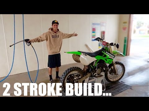 NEW KX125 2 Stroke Project Bike Reveal!!!
