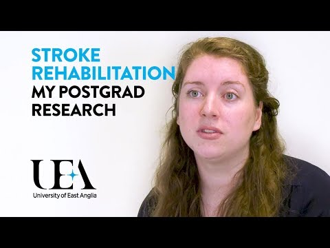 Fiona's PhD in Stroke Rehabilitation: Life as a UEA Postgraduate Research Student