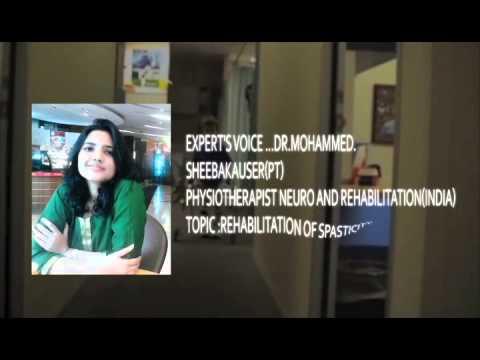 promo for rehabilitation of spasticity
