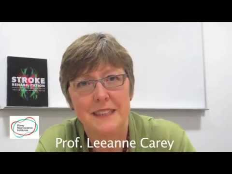 Professor Leeanne Carey – Stroke Rehabilitation: Insights from Neuroscience and Imaging