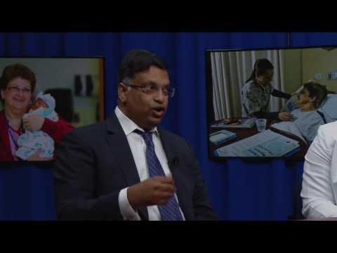 Stroke HealthTalk featuring Dr. Srinivasa Potluri and Florence Chukwuneke, N.P.
