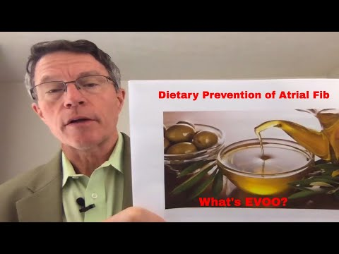 The Predimed Study: Prevention of Atrial Fibrillation with Diet: Extra Virgin Olive Oil