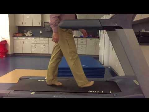 Slow Motion Drop Foot
