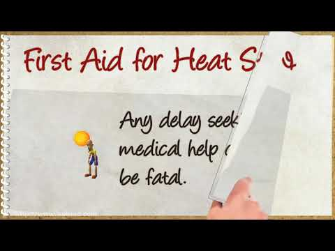 Heat Stroke: Symptoms and First Aid