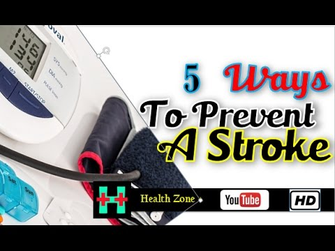 5 Ways to Prevent a Stroke
