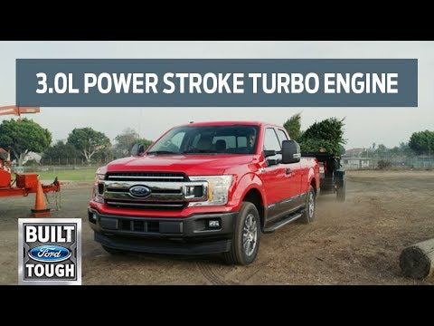 Introducing F-150's newest engine: the 3.0L Power Stroke Turbo | F-150 | Ford
