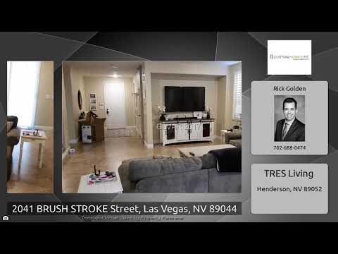 2041 BRUSH STROKE Street, Las Vegas, NV 89044
