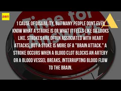 What Does It Feel Like When You Have A Stroke?