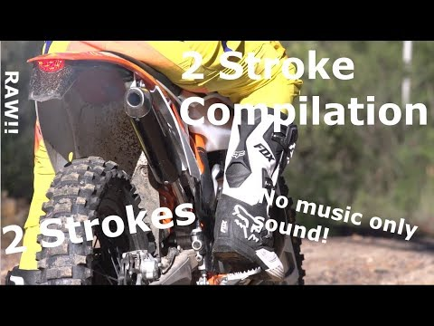 2-Stroke-Compilation | Only Sound | 2017 | HD |