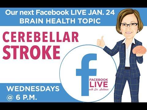 I CARE FOR YOUR BRAIN Facebook LIVE! Cerebellar Stroke