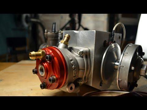 50cc Rotary Valve Nitro Moped Engine, Ignition and Variator | 2 Stroke Tuning