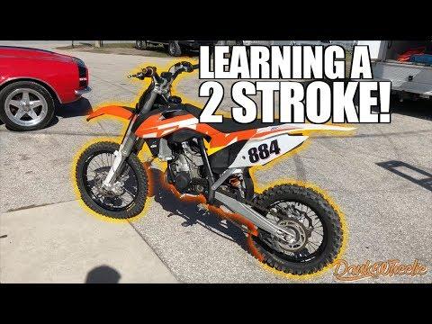 2 STROKE MONSTER – KTM SX85 Test Ride!