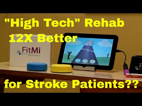 """""""High Tech"""" Rehab 12X Better for Stroke Patients? Check out FitMi for Neurological Impairments."""