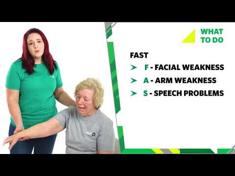 04 What To Do If Someone Has A Stroke, Signs & Symptoms   First Aid Training   St John Ambulance