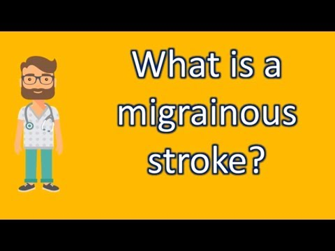 What is a migrainous stroke ? | Better Health Channel